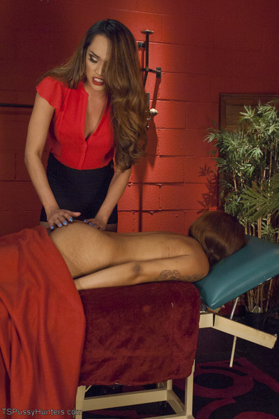 Jessica is going for a immeasurable tissue massage. anal annihilation leads to a intact rel