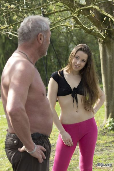 Princess Taissia is enjoying the fotos whilst the Oldje is activity some exercises for his diet. Herself solely Twenty one years old but by this age that babe already learned old fellows are greater amount sexually experienced and really this is what that