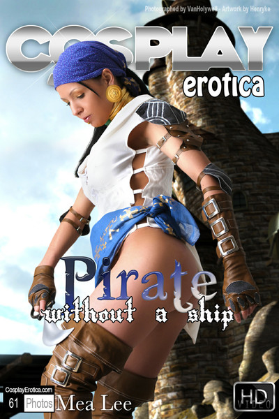 Pirate cosplay with mea lee