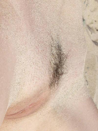 Willowy beach darling melok bare in public