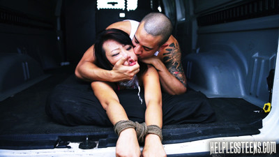 Unwell youthful miko dai went out for a trouble-free run and twisted her ankle. that babe forg