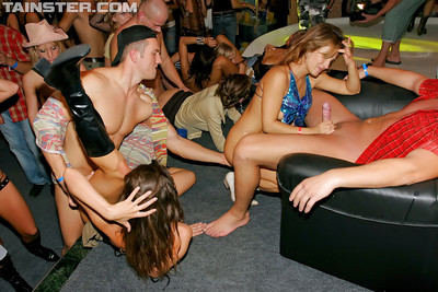 Seductive european get-together strumpets getting down with well-hung males