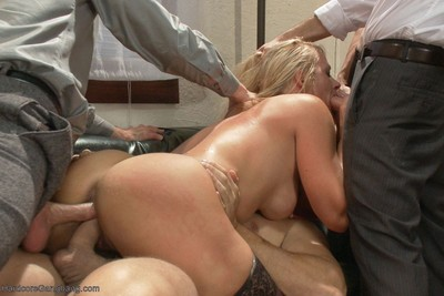 Golden-haired doxy wife purchases slammed keen to subspace!