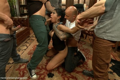 Beretta james - your large lover paparazzi gangbang!