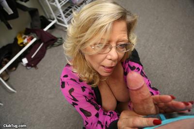 Breasty damp calm karen summer prostate milking constricted penis