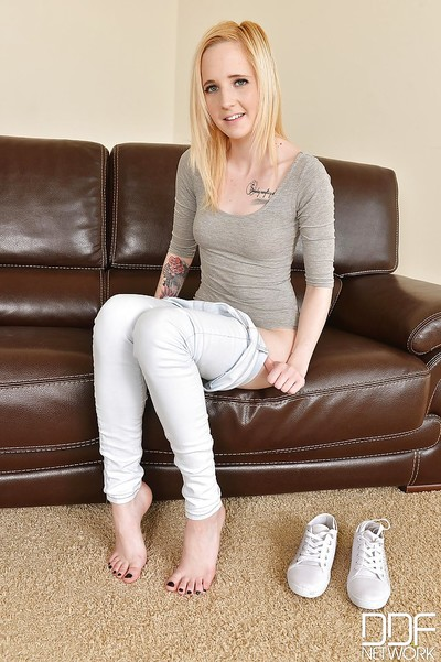 European model Alica is a brutal young with a fabulous hairless cum-hole