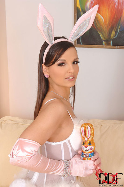 Eve Chicito Toys In A Bunny Dress