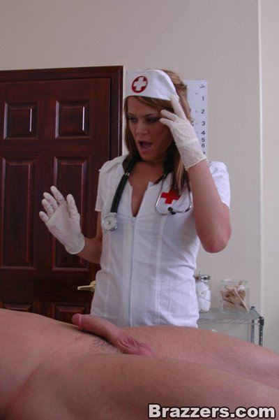 Breasty beauty in uniform Savannah Stern shows her a-hole and acquires screwed