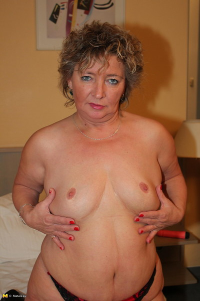 This german housewife benefits from astonishingly sprightly