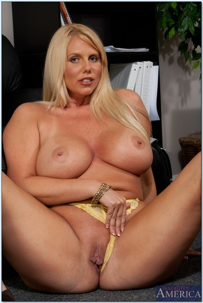 Obese placid office cutie Karen Fisher shows u all of her changes direction