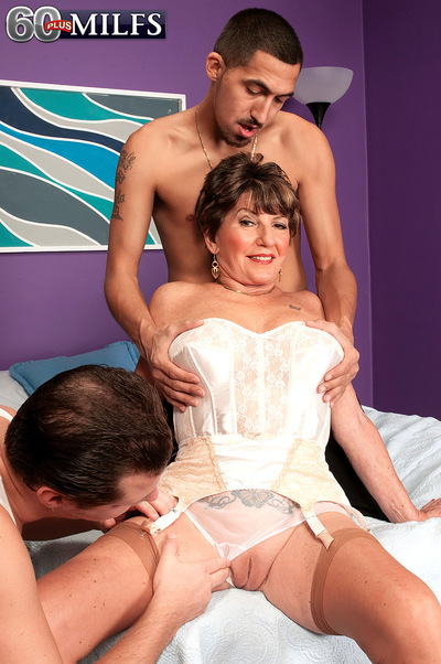 Bea Cummins Returns...for A Threesome!