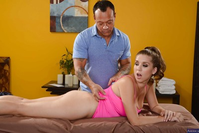 Harsh and hawt slut Alex Chance receives a smokin