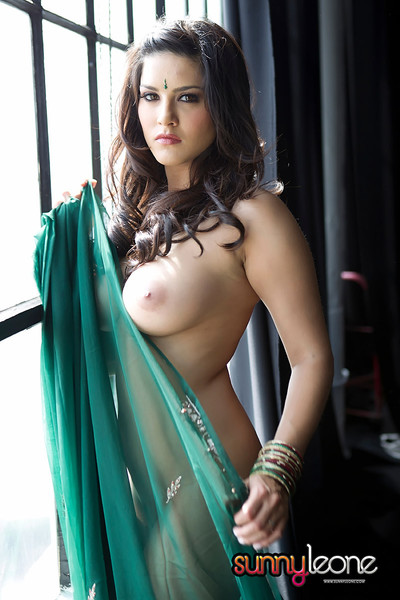Titsy indian hottie endearing leone in sticky uncovered images