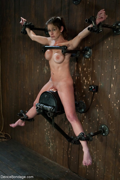 Restrained MILF Felony obligatory to flight Sybian machine to agonorgasmos