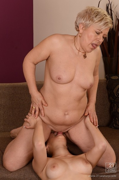 old juvenile girl-on-girl love enthusiastic 14