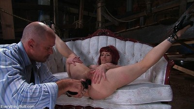 Now ahead of i turned her over to him i had my own satisfaction with her, a 1 gallon enema