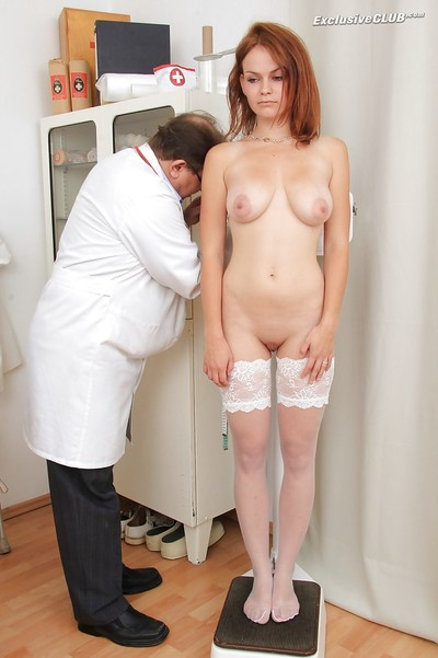 Raunchy redhead floosie receives involved can