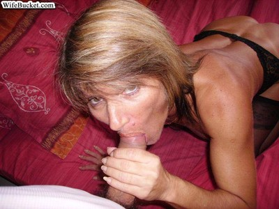 Real youthful wives naked despite the fact giving blowjobs