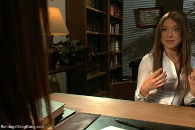 Amy brooke plays a gorgeous law student with a imagining she