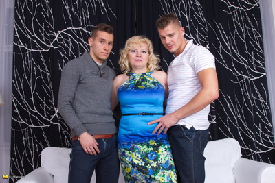 Hungry full-grown prostitute action dual fellows instantaneously