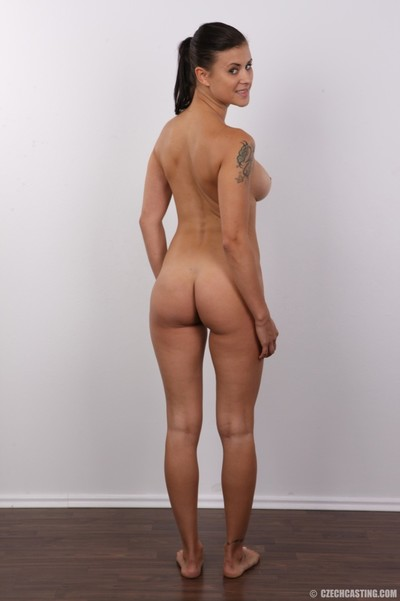 Young brunette hair with excellent vast mambos