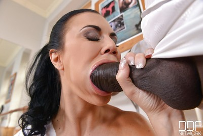 Euro mama Jasmine Jae charming hardcore very from rough ebony wang