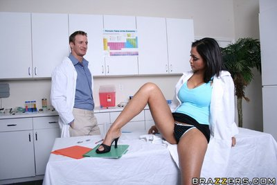 Indian MILF Priya Anjeli Rai gets undressed off uniform to fuck in the office