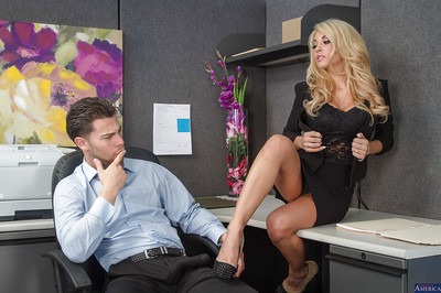Kayla Kayden was screwed in her perfect moist wazoo in the office