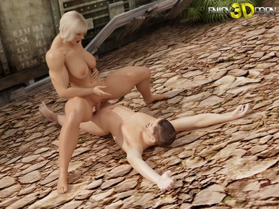 Damp bodybuilder blond attains bonked heavy