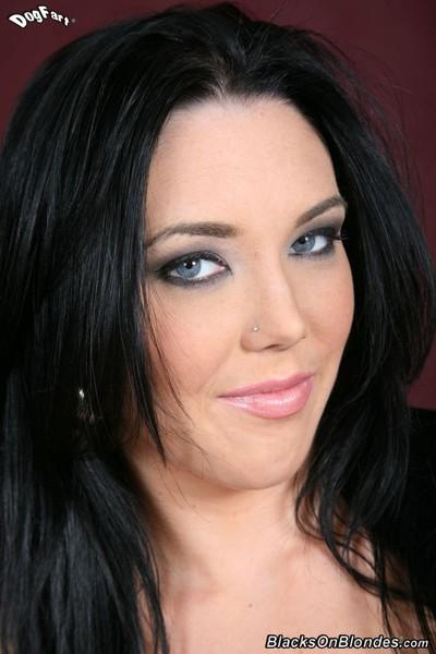 Megan foxx obtains drilled by weighty ebony schlong