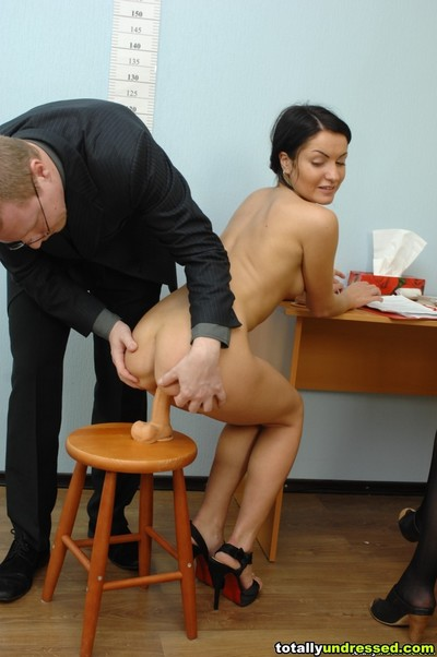 Testing the once in a time penetration and agonorgasmos skills of a candidate