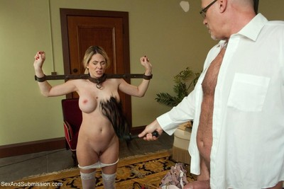 Hawt gal benefits from fixed firmly up, dominated and intense dug in conformation