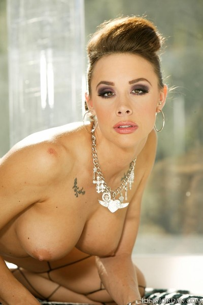 Chanel preston oiled anally fucked and cummed