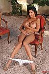 Boobsy cutie with hot legs Krystal Webb exposing her goodies outdoor