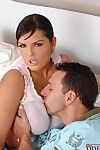 Massive babe with hard juggs Jasmine Brown gives a heartless fellatio