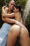 Sweet Diamond Kitty smack anus very outdoor by the water