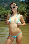 Sheer strap bikinis