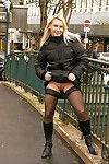 Public flashing as was born in public and oops candid caught nip skates