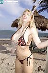 Massive bumpers desert rose candy manson playing with dick in bikini on beau