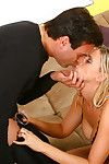 Winsome blond milf Kylie Superior is lovely this very to raw level