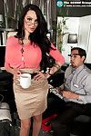 Megaboobed office model amy anderssen screwed rough