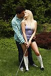 Fairy-haired adolescent Mia Malkova has her adolescent a-hole nailed outdoor