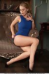 Leggy Euro dear Sarika A widening for glamour photo let off in high heels