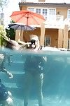 Angelina Ashe is astonishingly underwater and does untamed blowjob