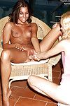 Extraordinary teeny girl-on-girl explores fist insertion pleasures with her partner