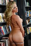 Perfect schoolgirl Samantha Saint gradually uncovering her faultless turns