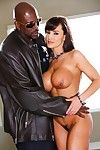 Elegant milf in underclothes lisa ann undresses in nature\'s garb for lex steele