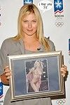 Maria sharapova\'s glamorous jugs and muff fotos