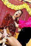 Tarra White & Stacy Silver are can\'t live without decadent girl-on-girl deed with their comrade