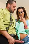 Alina Li seriously pines for the teachers comrade position. Herself eager to do anything, and shes eager to do it huger than somebody else that\'s applying for the position. This girl puts her bank note where her gullet is when this chick takes her profess